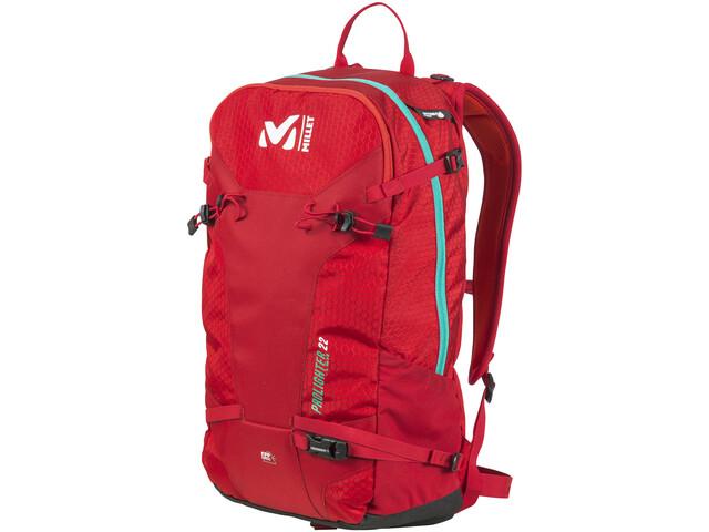 6f76a1b64229f Millet Prolighter 22 - Sac à dos - rouge sur CAMPZ !